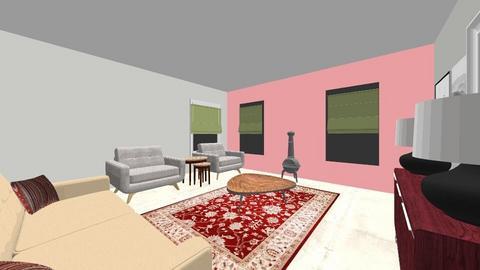 Rebecca Sherwood - Living room  - by homedesigncardiff