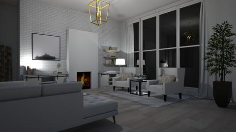 modern living room - Living room  - by alexbauerly