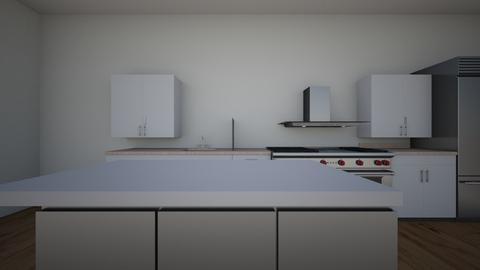 Kitchen Single line with  - Kitchen  - by ReichmanAlex