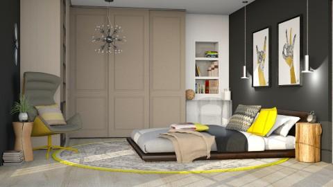 Him her - Bedroom - by Liu Kovac