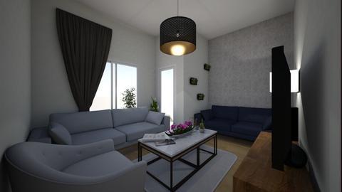 nida2 - Living room  - by baharustun