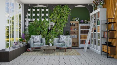 Plant Room - Garden  - by Feeny