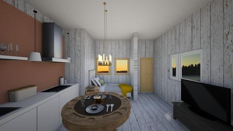 Rustic Small House - Rustic - Bedroom  - by lostboy11