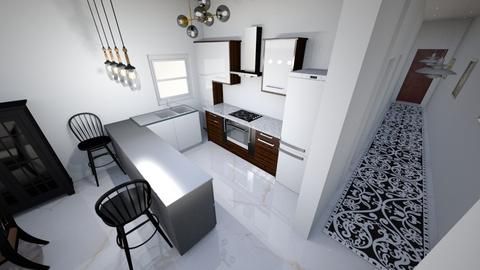 My_Flat - Kitchen  - by ahmed aboelnas