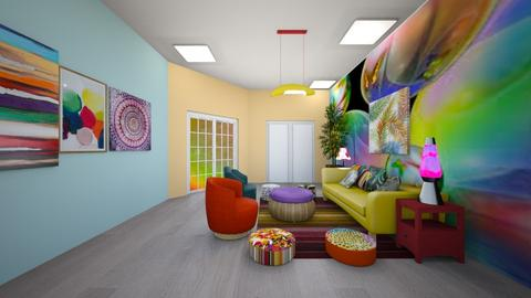 Example - Living room  - by Feeny