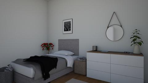 Simple room - Bedroom  - by KathyScott