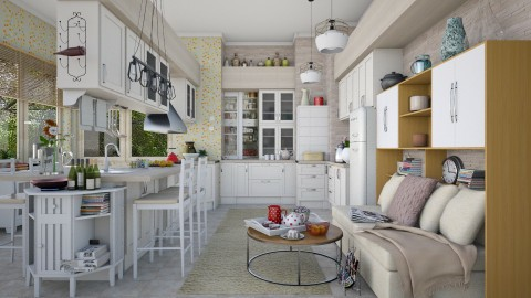 everyday routines  - Eclectic - Kitchen - by Ida Dzanovic
