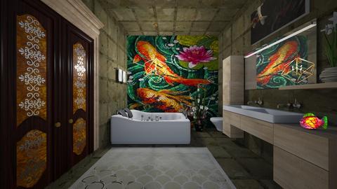 small bath - Bathroom  - by faylynn96