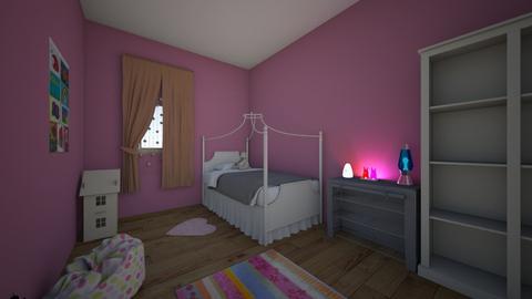 kids princess room - Kids room  - by LexiLooNanni