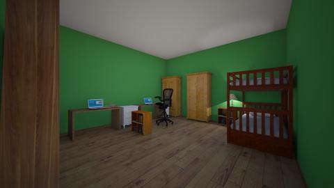 David Stolba - Kids room  - by davidstolba