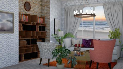 Boho Living Room 2 - Living room - by abbyt94