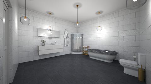Bathroom house one - Bathroom  - by AM_POTAT