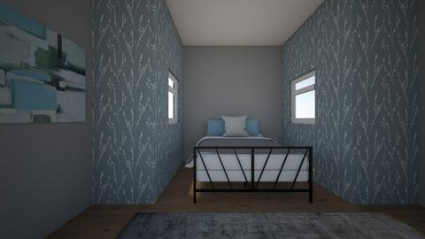 Kates bedroom - Modern - Bedroom  - by kwoods34