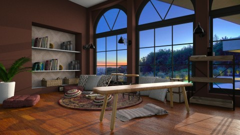 Auburns - Rustic - Living room  - by elle rose
