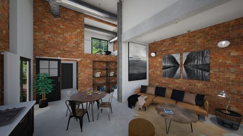 Small industrial - Modern - Bedroom - by tornadolynn