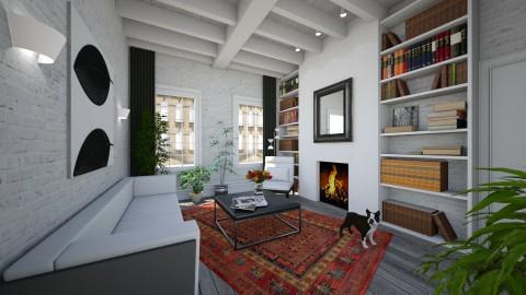 Herenhuis - Eclectic - Living room  - by Theadora