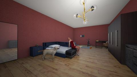 Habitacion JA - Rustic - Bedroom  - by jelem1