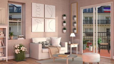 Neutrals - Eclectic - Living room - by Sally Simpson