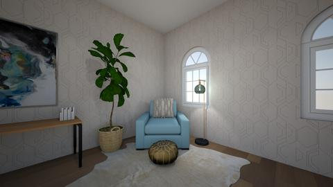 First design - Rustic - Office  - by Yanelee