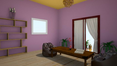 my living room - Vintage - Living room  - by stauroula