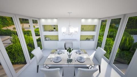 Lime details - Dining room - by niquiche