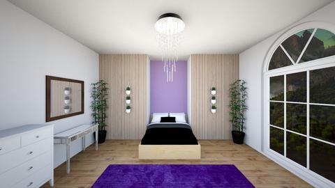 Chandelier bedroom - Bedroom  - by AlphaWolfLil