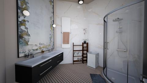 Bathroom - Modern - Bathroom  - by chaimaejamali