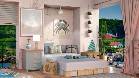 Nautical Bedroom - Eclectic - Bedroom  - by Sally Simpson
