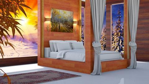 Fall Bedroom - Bedroom  - by  Daizydesign