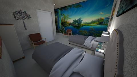 Maids Room - Modern - Bedroom  - by alonatech_2nd
