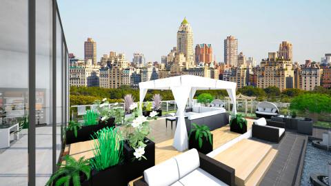 rooftop garden - Modern - Garden  - by Ali Ruth