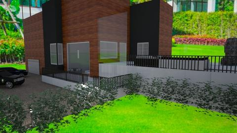 eco home modern - by RhodriSimpson13