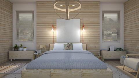Natural chandelier  - Modern - Bedroom  - by augustmoon