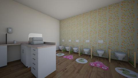 boernehave - Living room  - by julemandergrim34