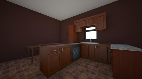 1 - Kitchen  - by sharpiewashere