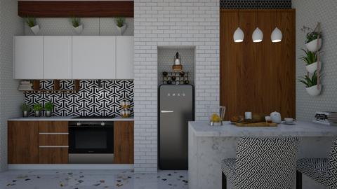 YOO Kitchen - Modern - Kitchen  - by Nicky West