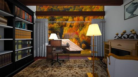 Autumn - Classic - Office  - by GinnyGranger394