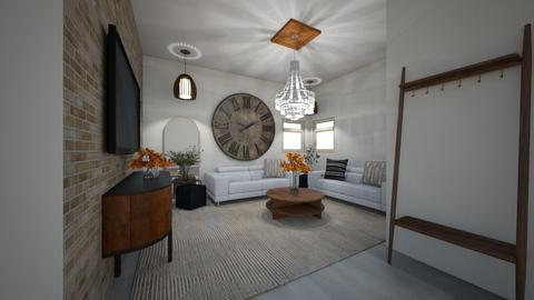 SINGLE MUM - Classic - Living room  - by kat587494