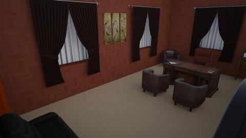 SpgCty Mansion Office - Modern - Office  - by alonatech_2nd