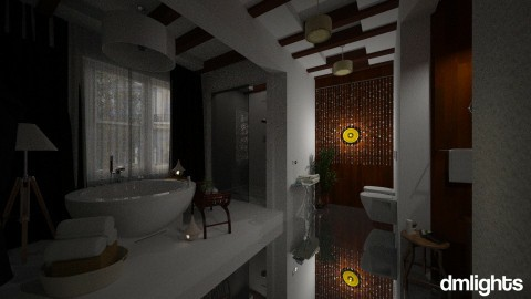 Relax in London - Modern - Bathroom  - by DMLights-user-991288