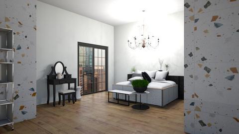 contest 1 matildabeast  - Modern - Bedroom  - by matildabeast