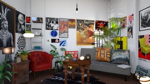 TOPEX NEWS ROOM  GRUNGE - Office  - by rosiephotog