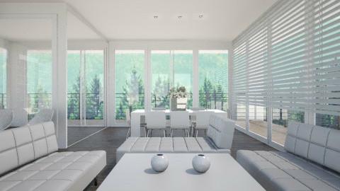 GlassParadise001 - Modern - by Ivana J