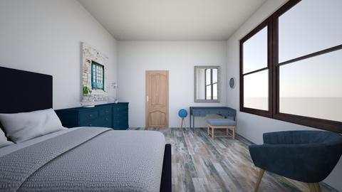 Blue - Classic - Bedroom  - by Twerka