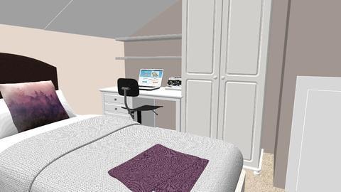 Loft Bedroom - by AJParry92