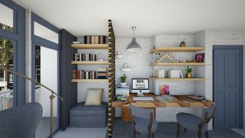 Scandinavian Desk Pr 9 - Modern - Office  - by deleted_1486240105_VermontianRain