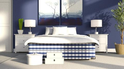 Hastens_Bed - Bedroom - by ZuzanaDesign