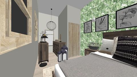 uni student - Classic - Bedroom  - by katahie12345