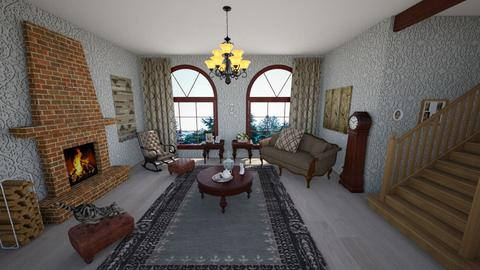 granny style - Living room - by Edy99