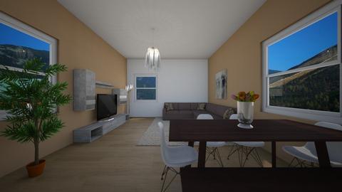 Flat - Country - Living room - by Twerka
